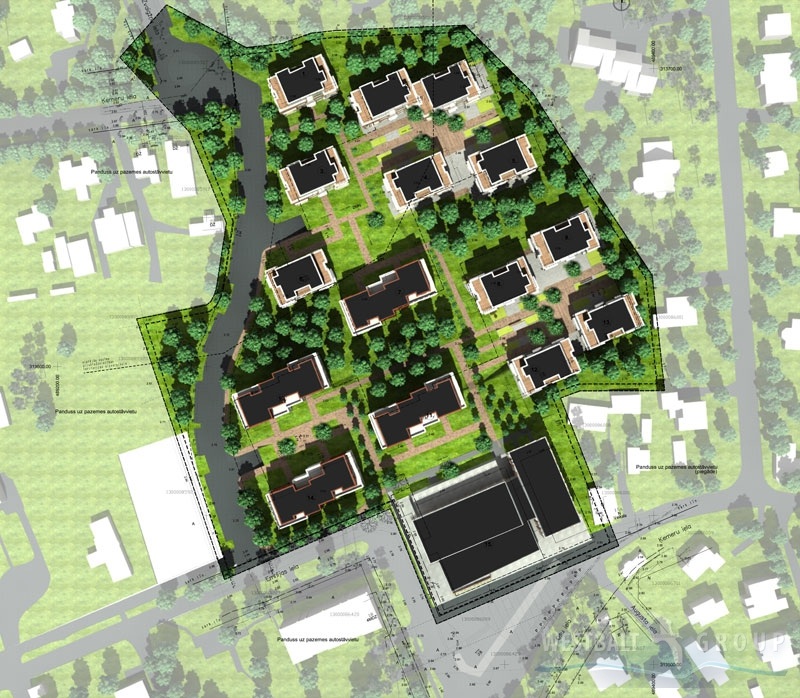 Housing estate layout plans home design and style for Estate plans designs